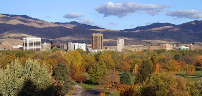 Boise Fall Skyline