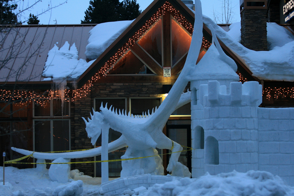 McCall Winter Ice Sculpture